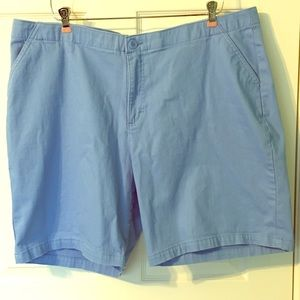 Riders by Lee Shorts 22W Plus Size Blue
